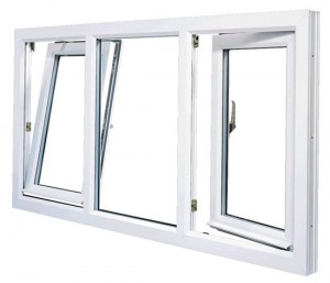 Cửa sổ nhựa lõi thép VA-002